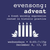 evensong advent