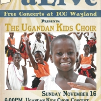 fall2014 poster UgandanKidsChoir