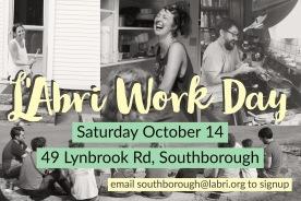 labri work day poster